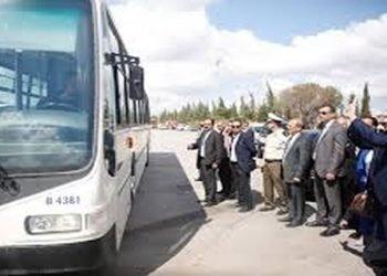 النظام الإيراني يصدر حكما بالحبس والجلد على سائق حافلة لمشاركته في مظاهرات يوم العمال