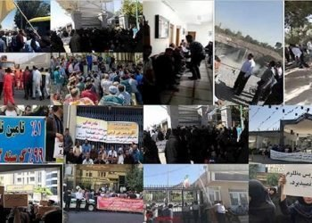 177 حركة احتجاجية ضد نظام الملالي في 57 مدينة إيرانية خلال أغسطس
