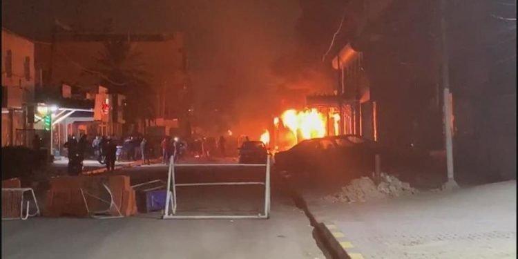 عن حرق القنصلية الايرانية في النجف