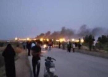 إطلاق النار والغاز المسيل للدموع على عوائل سجناء سجن شيبان في الأهواز