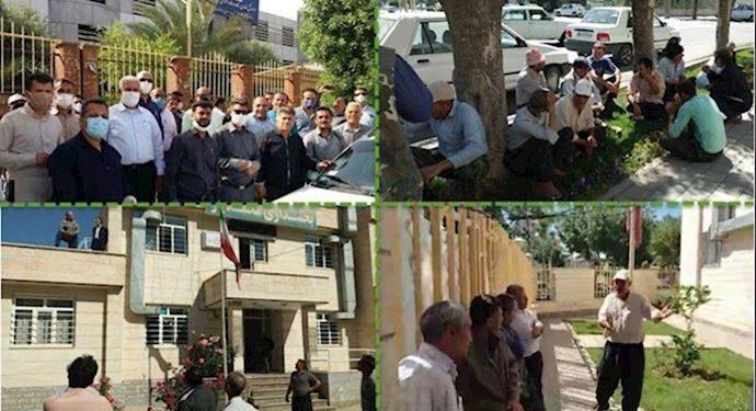 احتجاجات في إيران .. استمرار الحركات الاحتجاجية في المدن الإيرانية