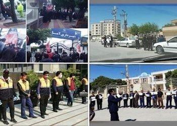 226 حركة احتجاجية في إيران في شهر أبريل 2020 ضد نظام الملالي