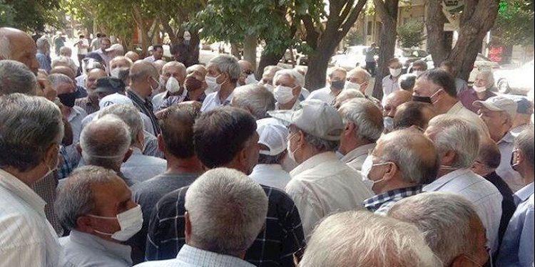 تقریرعن استمرار وتوسع نطاق الاحتجاجات في إيران ضد النظام