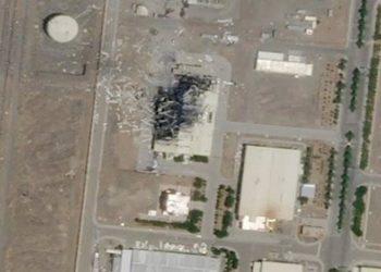 إنفجار نطنز في إيران يدمر ثلاثة أرباع مبنى تجميع منشأة نووية