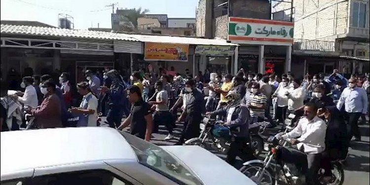 احتجاجات إيران ..عمال هفت تبه العامل يموت ولن يقبل الذل