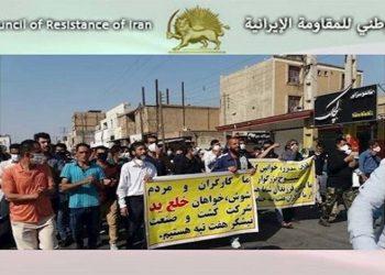تصاعد احتجاجات شرائح المجتمع الكادحة في يوليو في إيران