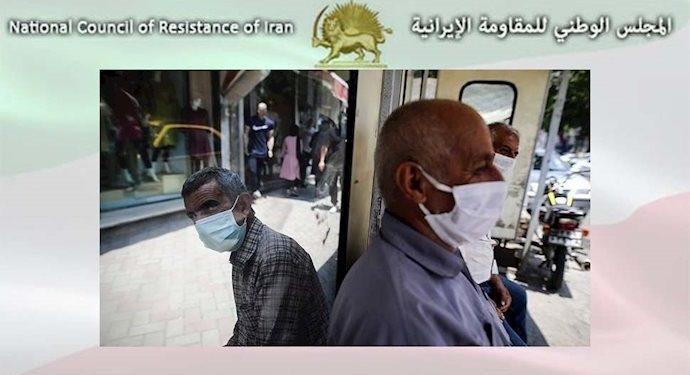 مجاهدي خلق ضحايا كورونا في 342 مدينة في إيران يتجاوز 69800 شخص