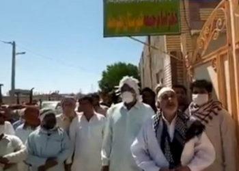 إيران .. تجمعان احتجاجيان لأهالي هيرمند في سيستان وبلوشستان وسكان شيبان في خوزستان