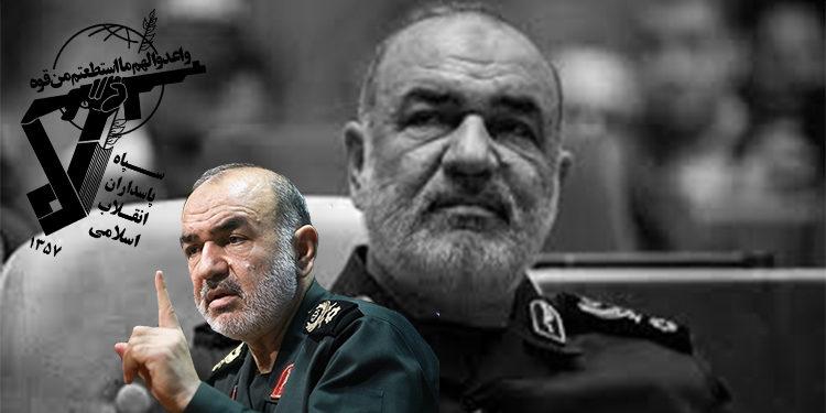 إيران- فظاعة قائد قوات الحرس والأقوال المتناقضة السخيفة
