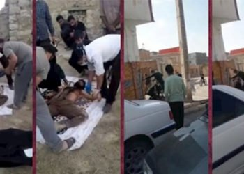 إيران - القتل الوحشي لشاب من اسفراين ومقتل شاب في مسجد سليمان