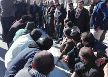 احتجاجات في إيران - تجمعات احتجاجية عمالية للاعتراض على عدم دفع رواتبهم ومطالباتهم