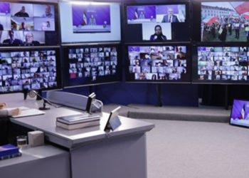 مؤتمرالمقاومة الإیرانیة عبر الإنترنت مع أعضاء البرلمان الأوروبي