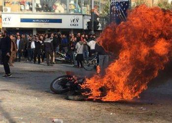 إيران - رعب من مجاهدي خلق واندلاع الانتفاضة في الذكرى السنوية لانتفاضات عام 2009