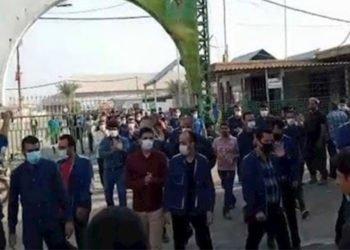 احتجاجات في إيران - الشعب الإيراني يحتج ضد سياسات النظام الإيراني القائمة على النهب