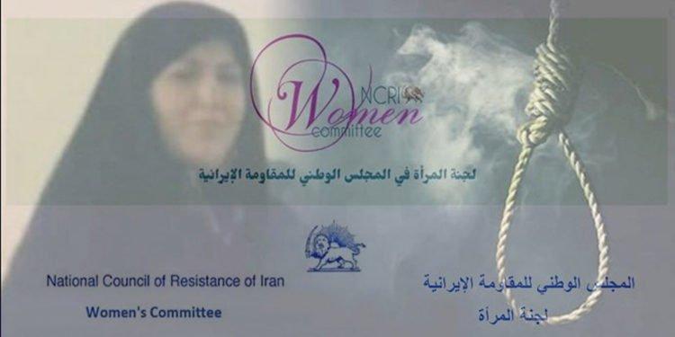 إيران - جلادو نظام الملالي يشنقون امرأة توفيت بنوبة قلبية قبل وقت قصير من إعدامها