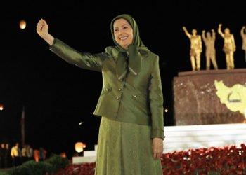 القيادة الفذة للسيدة مريم رجوي تعجل من عملية إسقاط النظام
