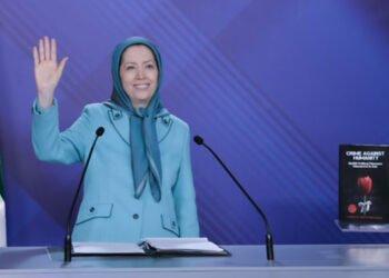 مريم رجوي: الشعب الإيراني عازم على إقامة جمهورية ديمقراطية في إيران