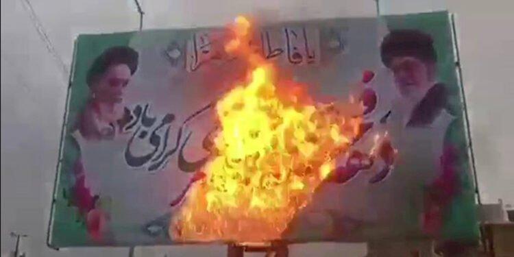 وحدات مقاومة مجاهدي خلق تواصل حملتها لمقاطعة مسرحية الانتخابات