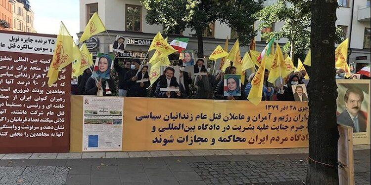 بندلي مجزرة السجناء السياسيين مطروحة منذ 1987 وانصار مجاهدي خلق واجهوا المشانق بالاهازيج