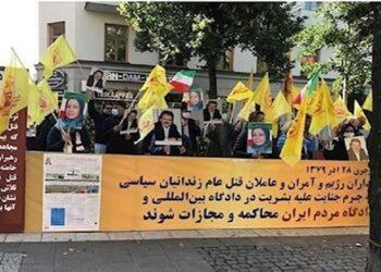 عام 2021، عام الرعب والهلع للنظام الدموي في طهران