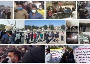احتجاجات واعتصامات ألإيرانيين للمطالبة بالاجور المتأخرة
