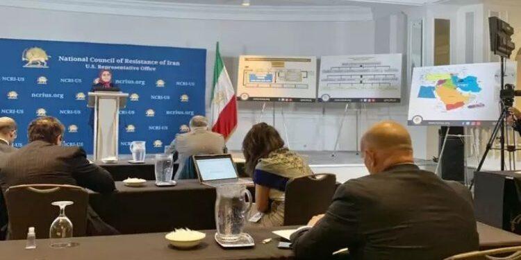 الكشف عن تفاصيل برنامج النظام الايراني للطائرات المسيرة في مؤتمرصحفي بواشنطن